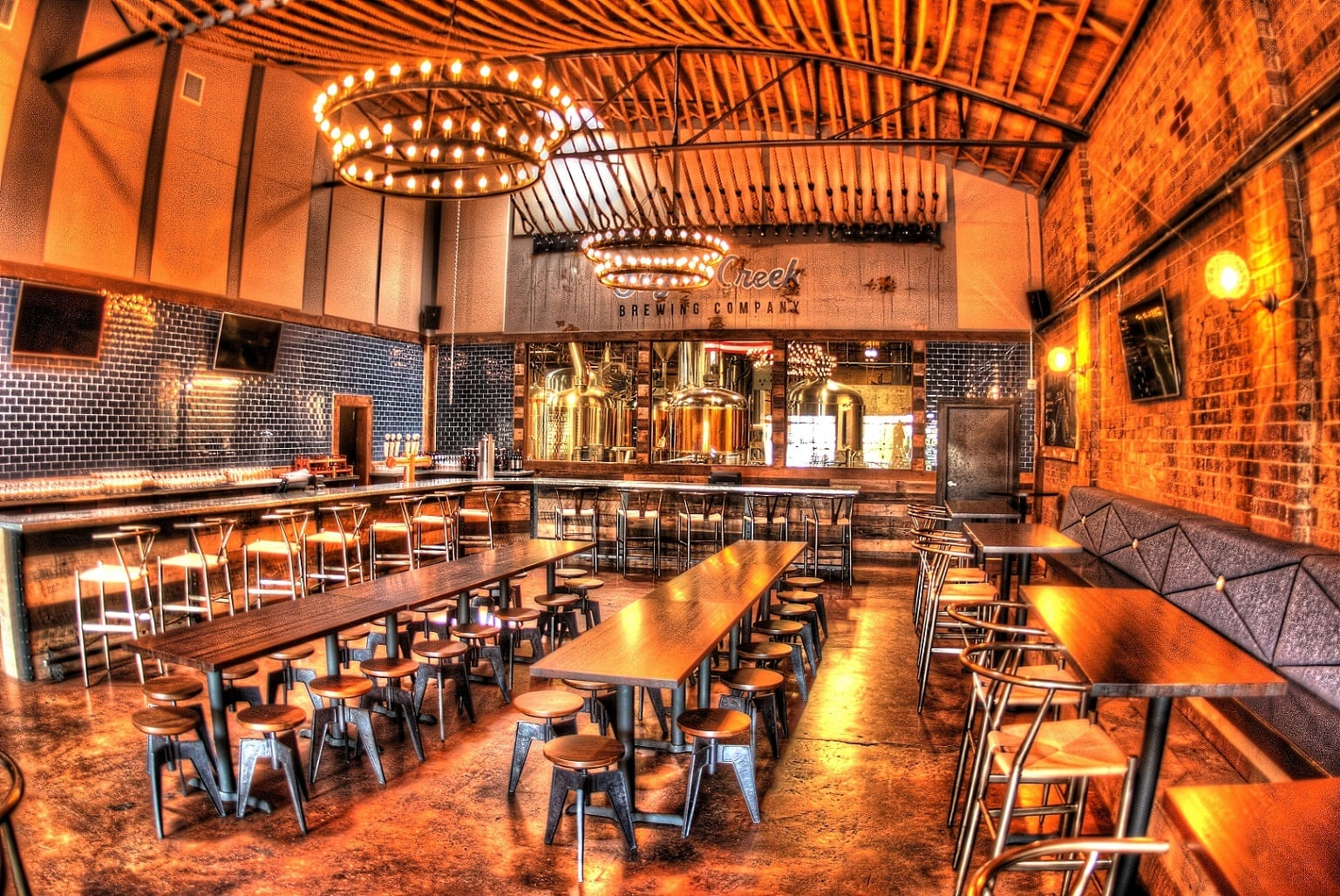 Explore the Taproom | Sugar Creek Brewing Company